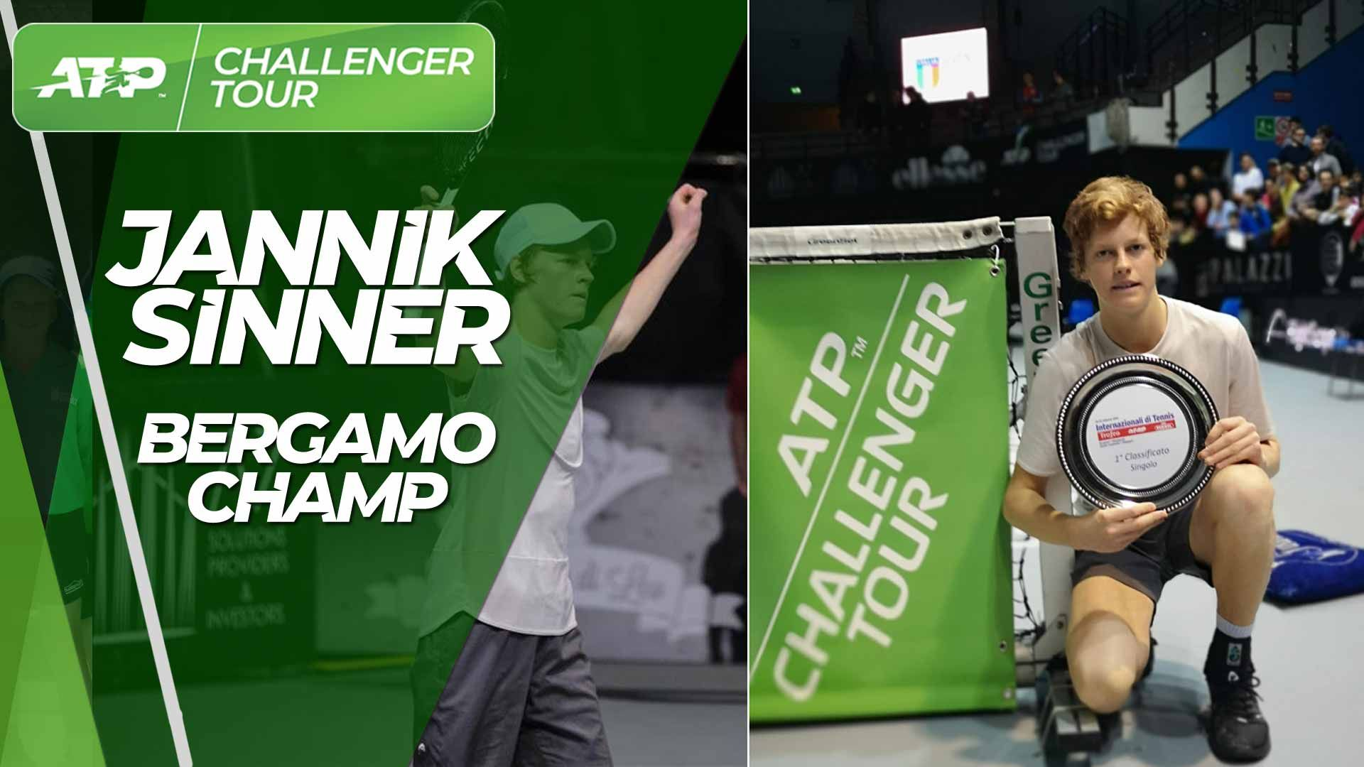 Atp Challenger 2019 Week 8 Jannik Sinner Il Gigante Della Rocca Del Baranci Conquista Bergamo Alessandro Zijno Blog